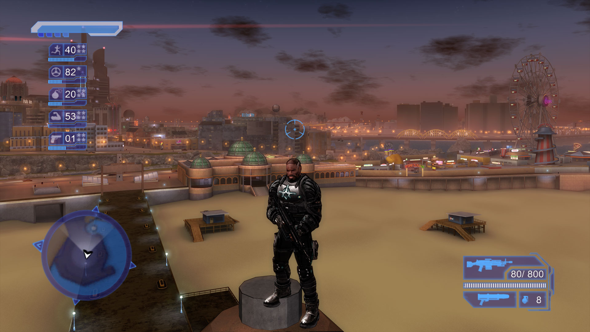 Crackdown Xbox One X Install Size Screenshot