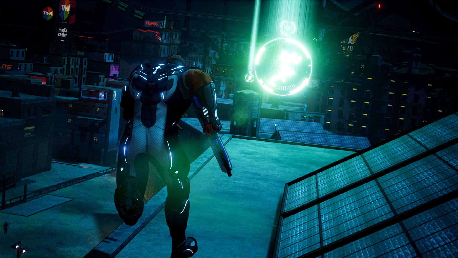 Crackdown 3 Xbox One X Screenshot