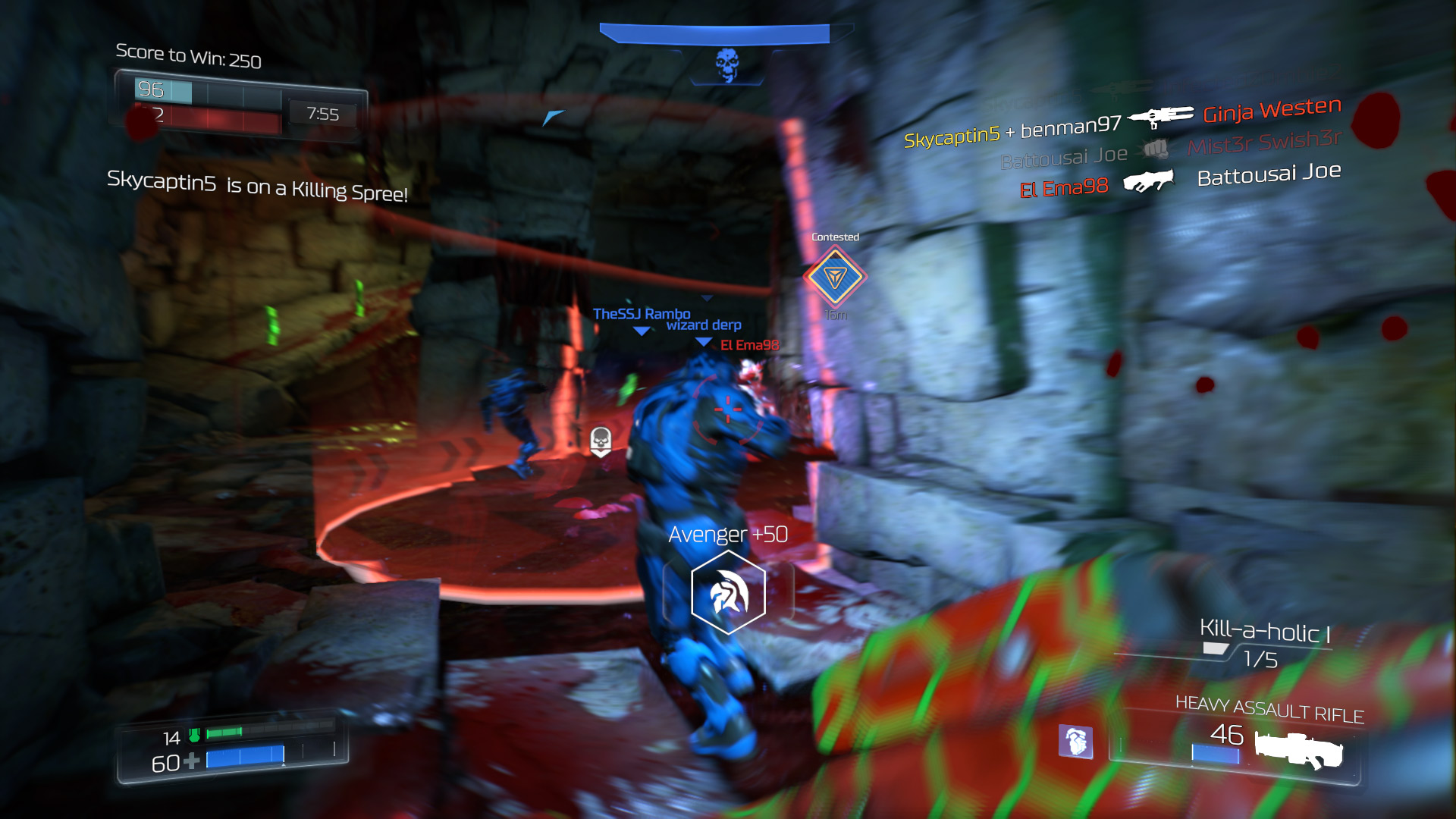 DOOM Beta Multiplayer Xbox One Screenshot