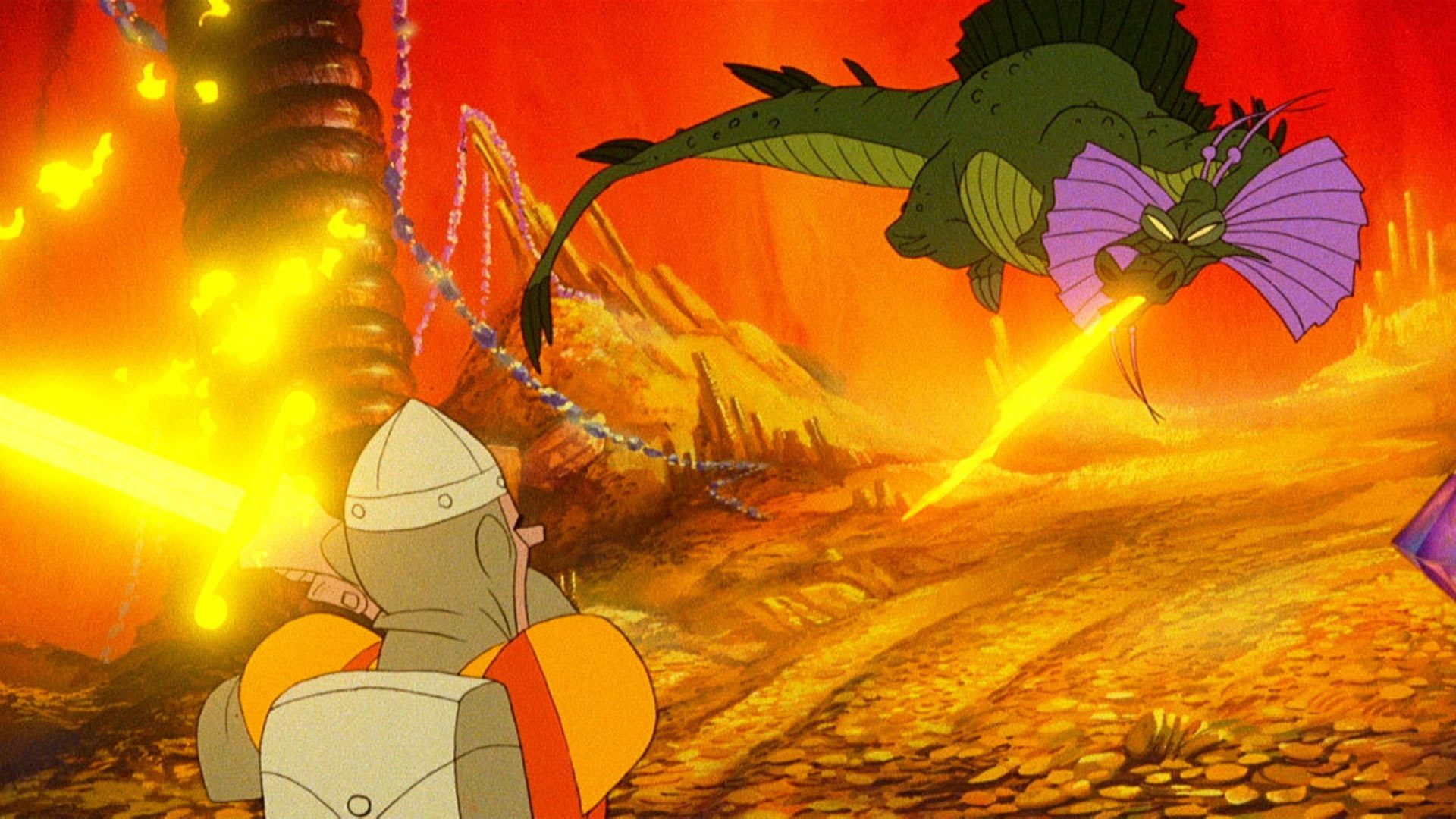 Dragon's Lair Trilogy Wallpaper Screenshot