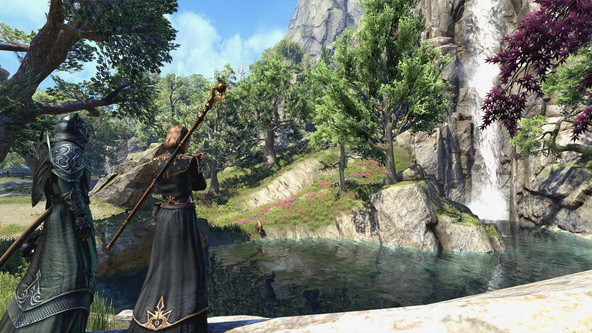The Elder Scrolls Online: Summerset Review Xbox Wallpaper Screenshot