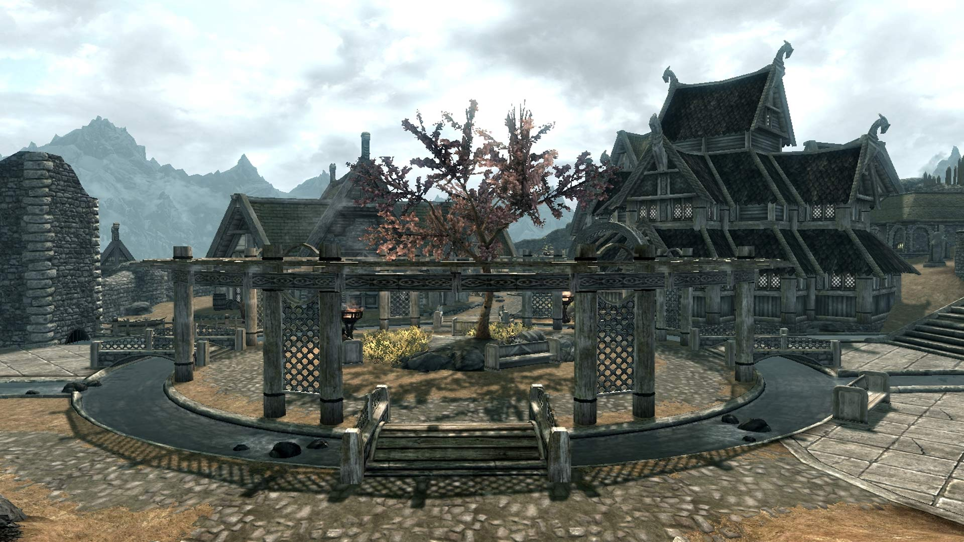 Skyrim: Special Edition Gildergreen Regrown Mod