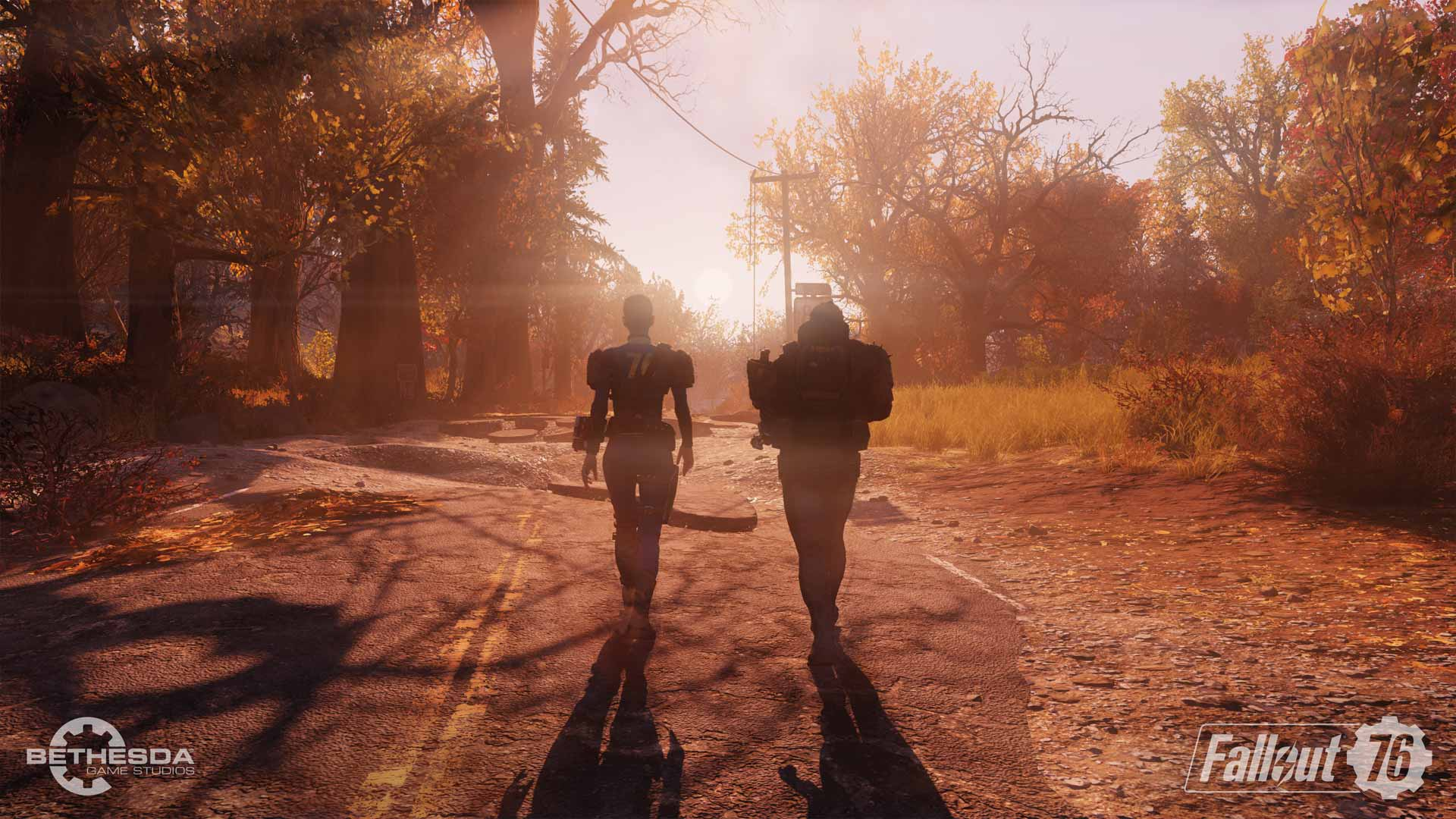 Fallout 76 Battle Screenshot