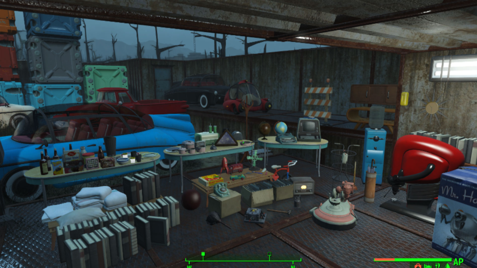 Fallout 4 Xbox Lowpoly's Settlement Furniture Pack Mod