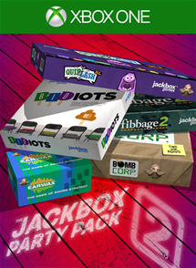 Jackbox Party Pack 2 Xbox One Box Art