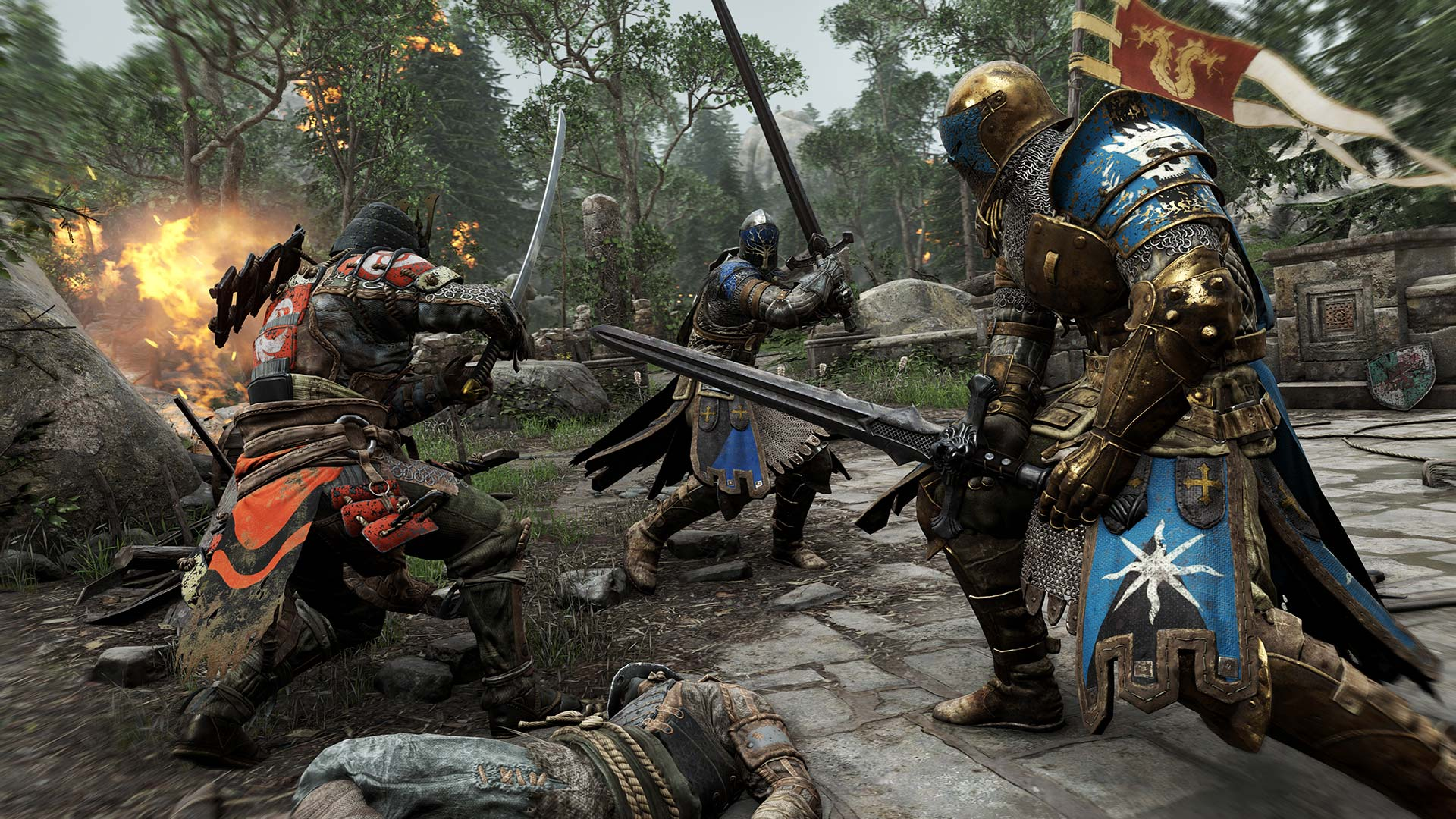 For Honor Xbox One X Install Size Screenshot