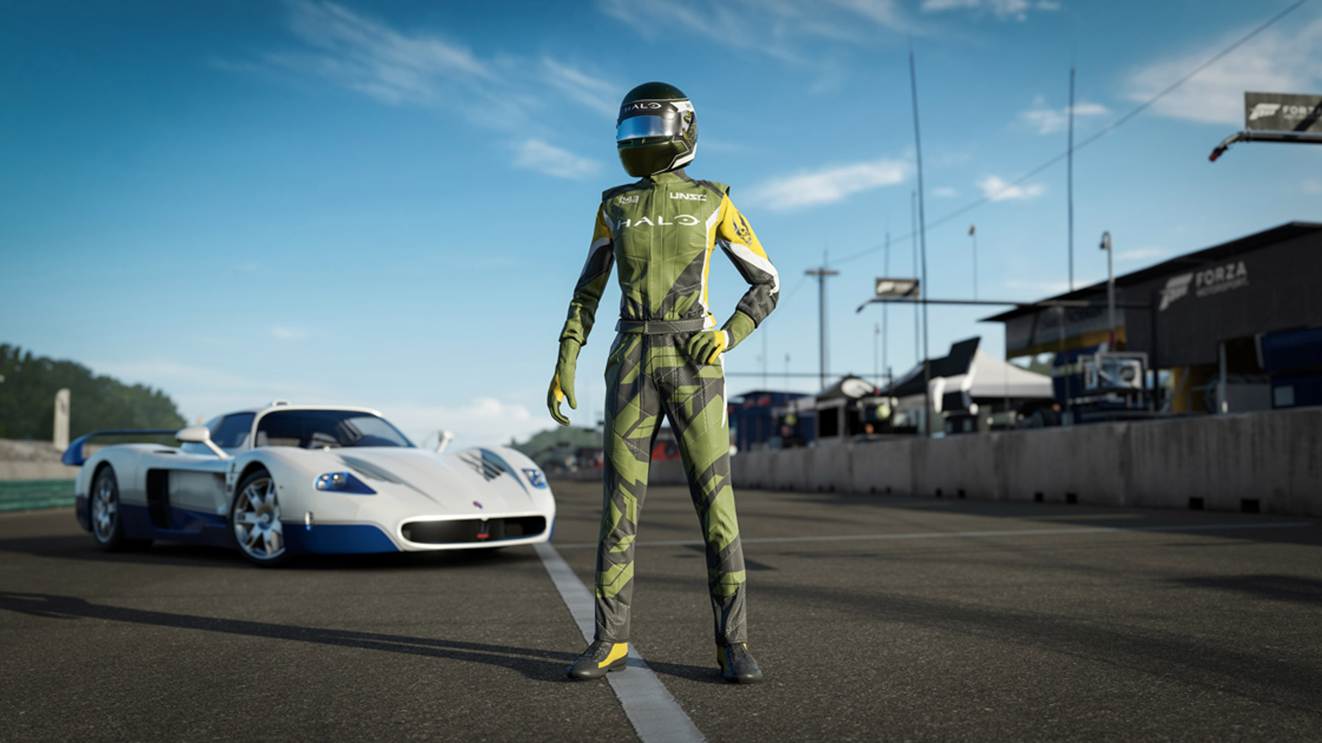 Forza Motorsport 7: Halo Driver Gear Screenshot
