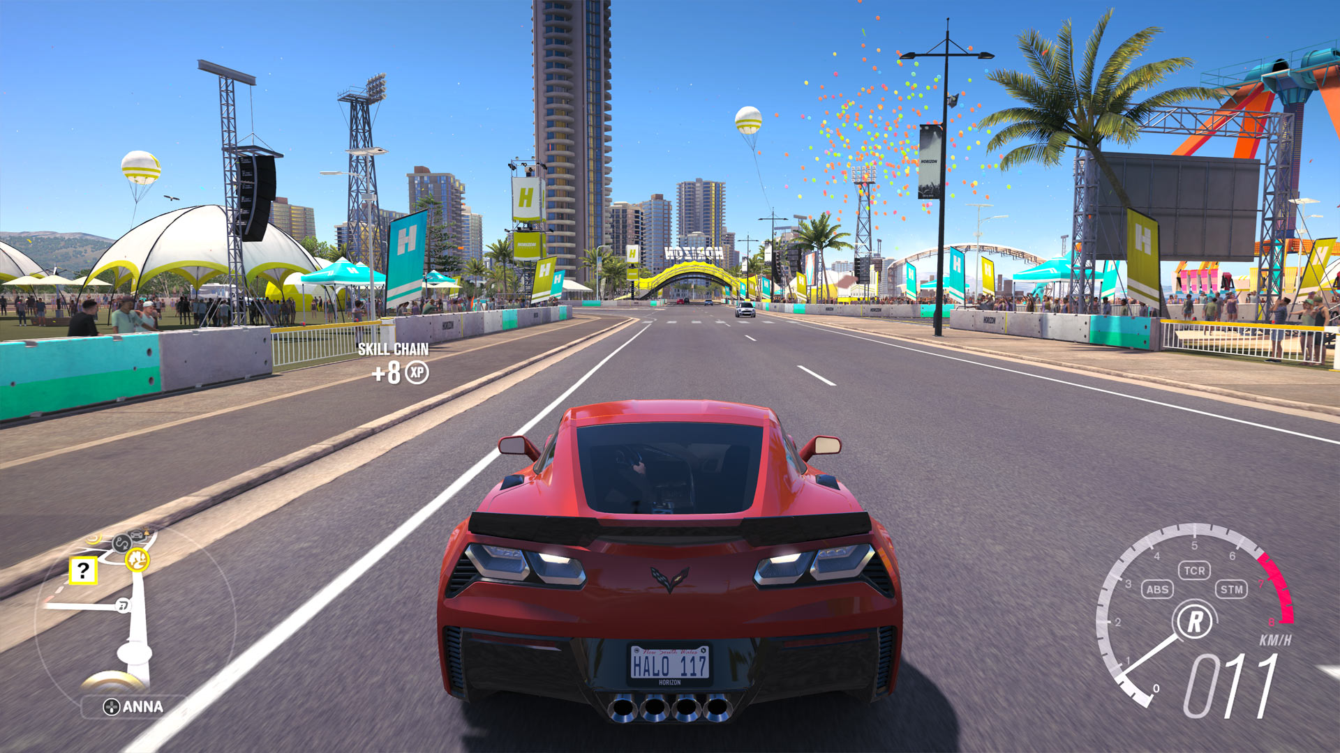 Forza Horizon 3 Xbox One X Install Size Screenshot