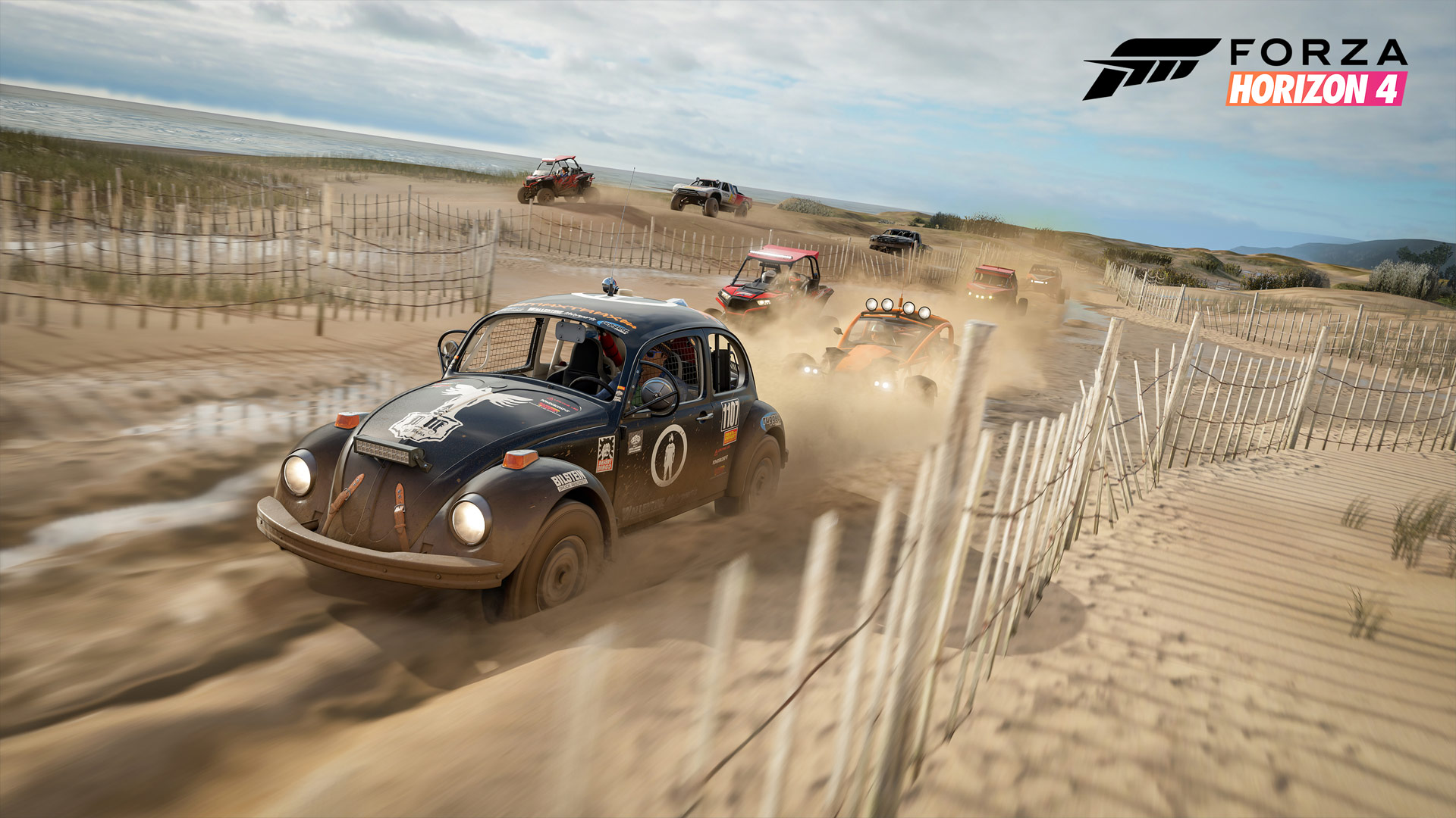 Forza Horizon 4 Beach Screenshot