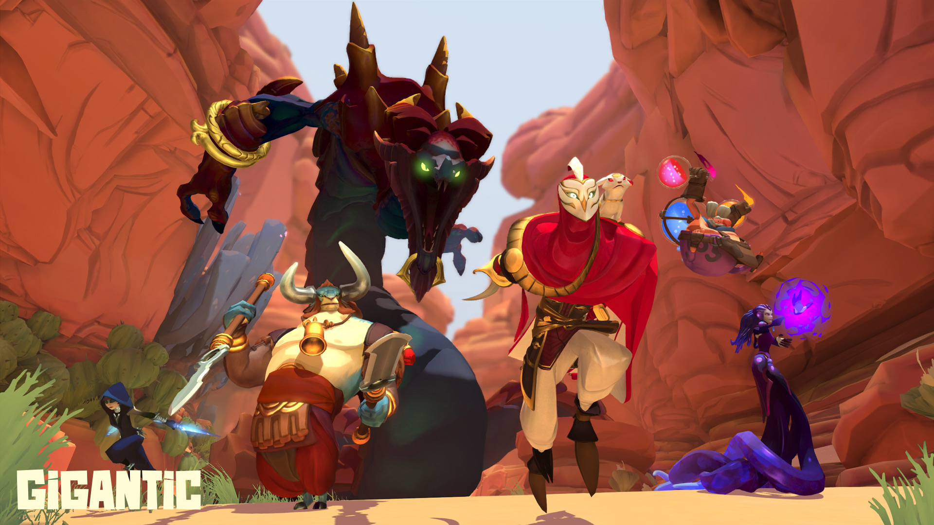 Gigantic shown at E3 2015