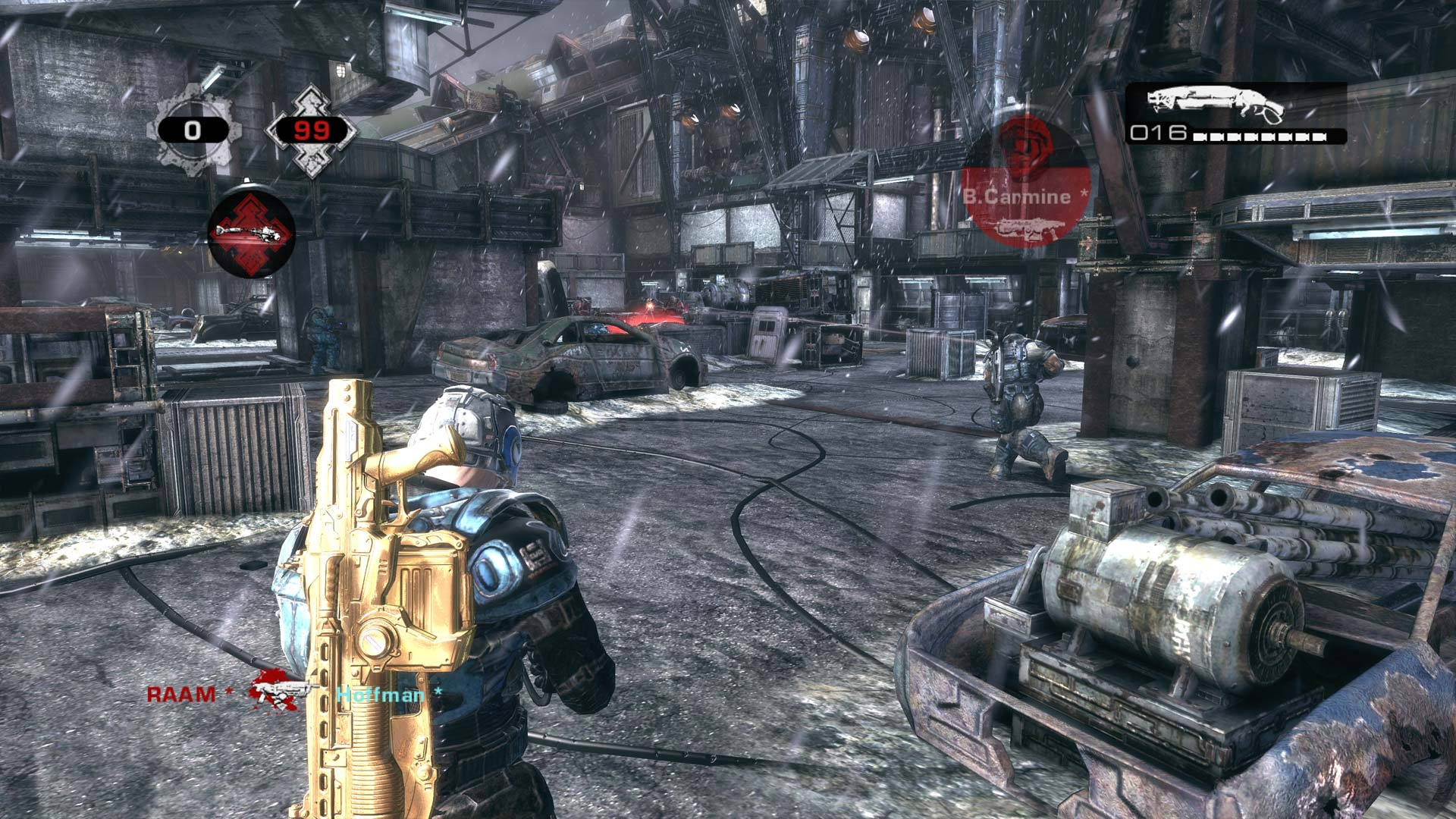 Gears of War 2 Xbox One X Enhanced Screenshot