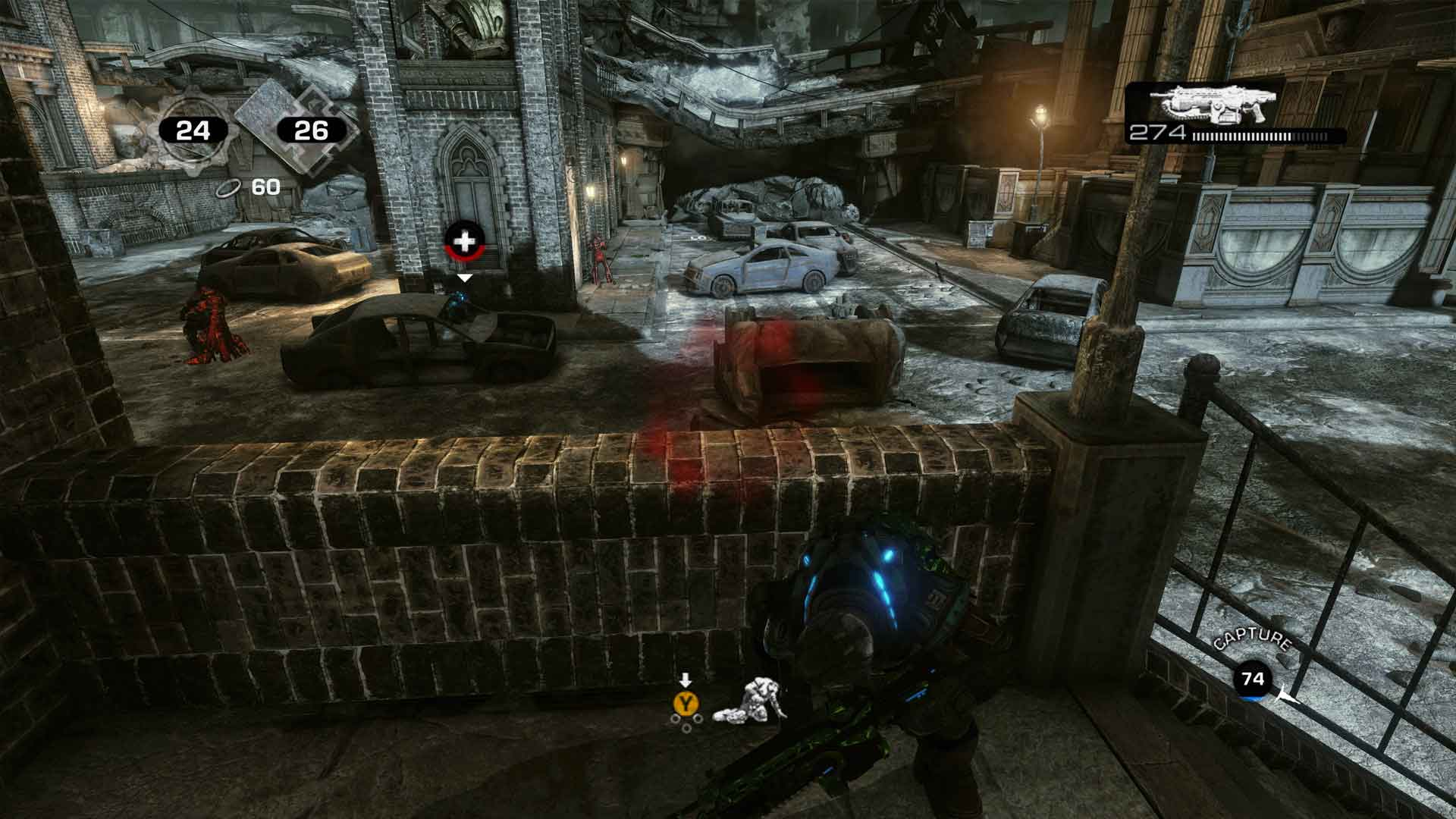 Gears of War 3 Xbox One X Screenshot
