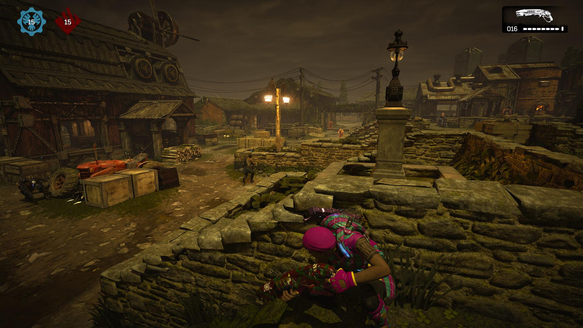 Gears of War 4 Xbox One X Screenshot Multiplayer