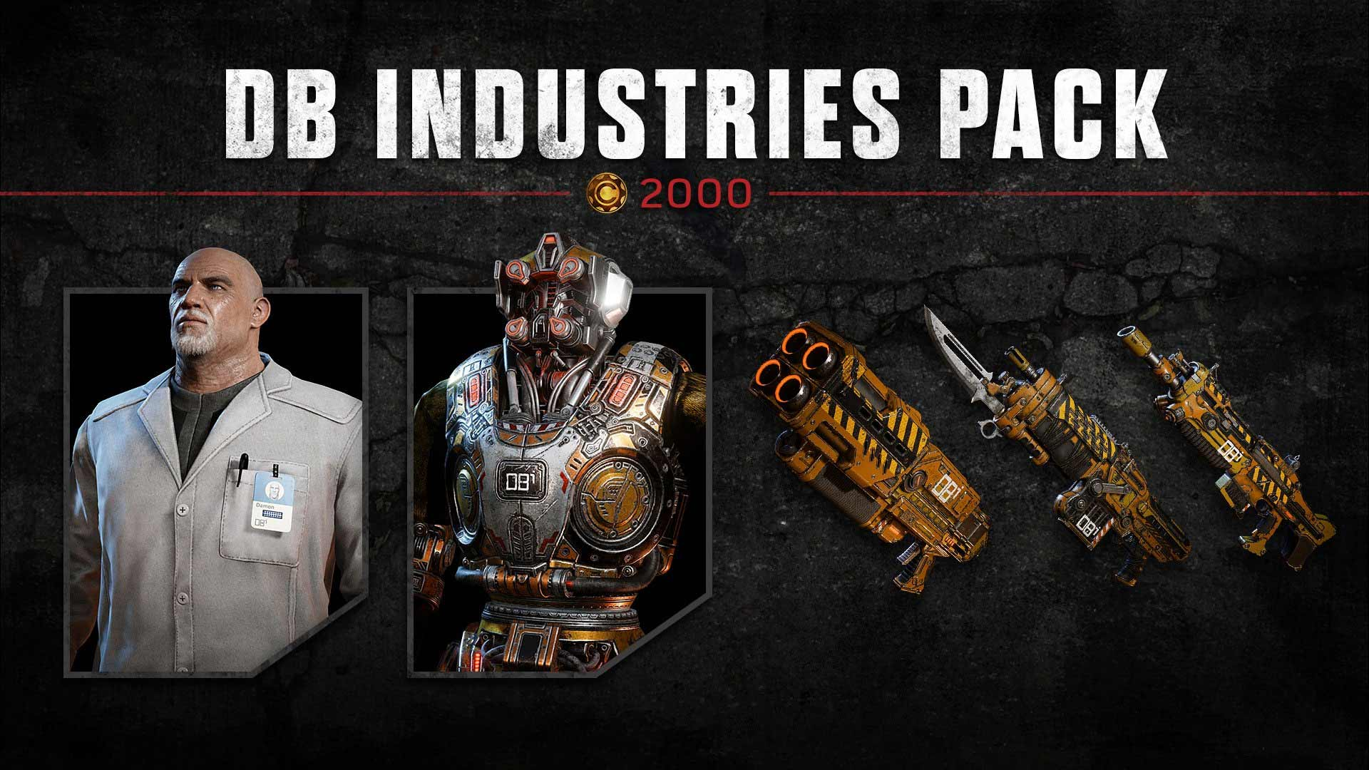Gears of War 4 DB Industries Pack