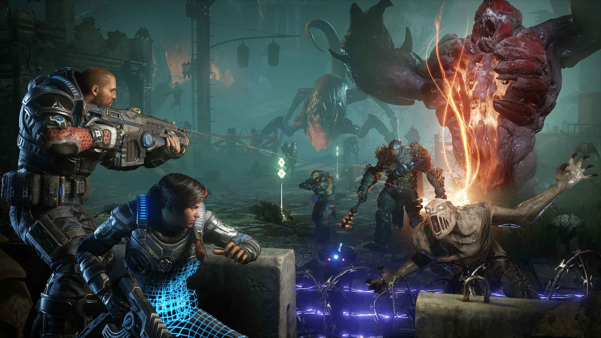 Gears 5 Multiplayer Tech Test Xbox One X
