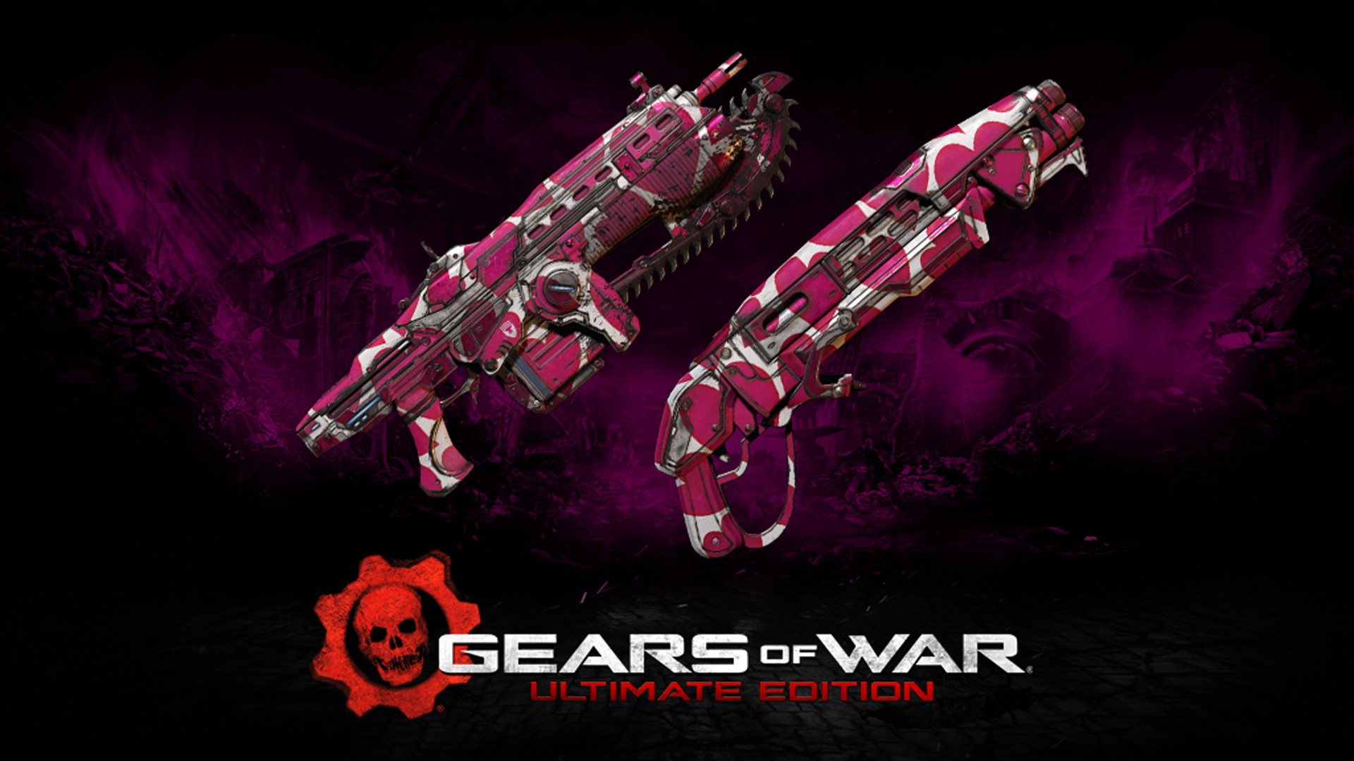Gears of War: Ultimate Edition Carried Gun Skin