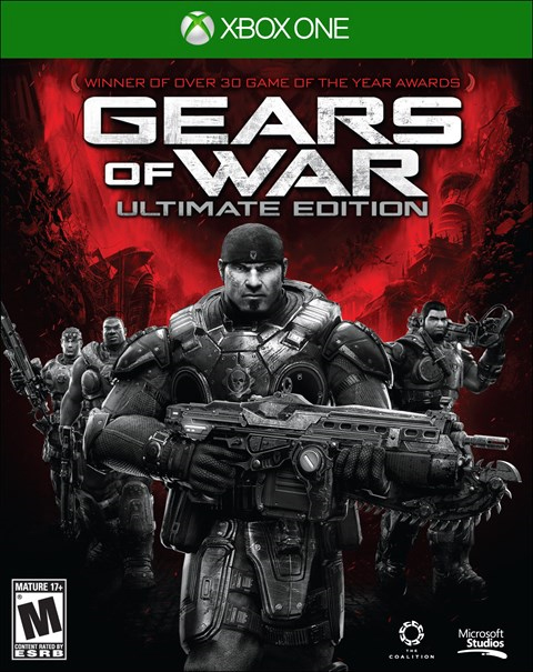 Gears of War: Ultimate Edition Xbox One Box Art