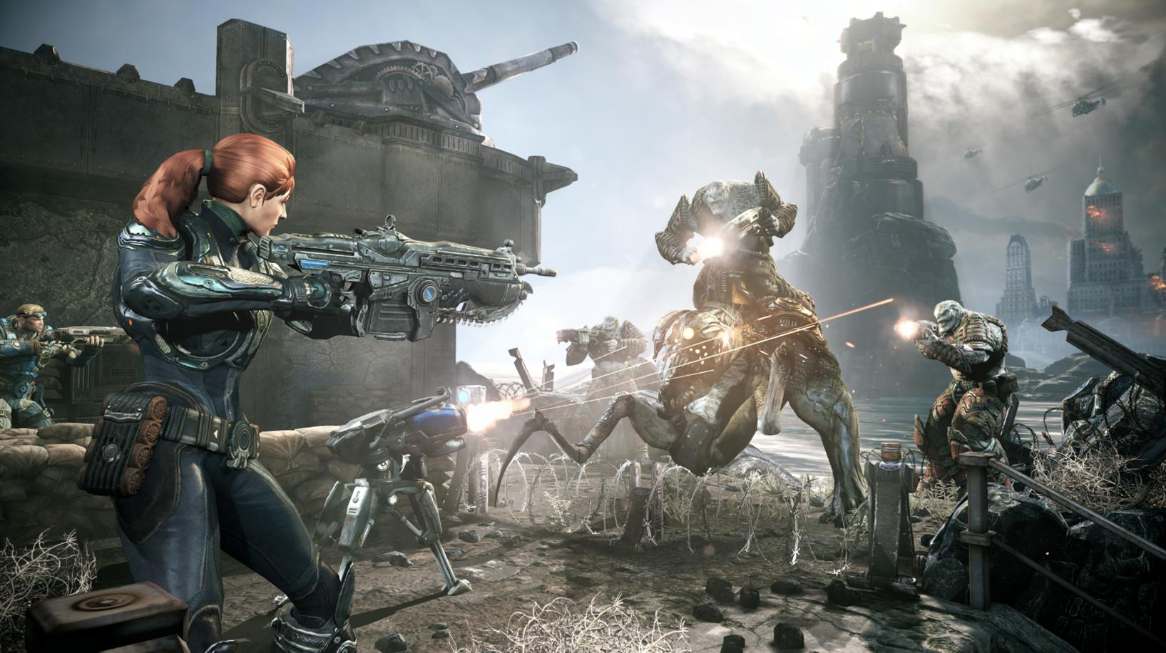 Gears of War: Judgment Wallpaper Cover