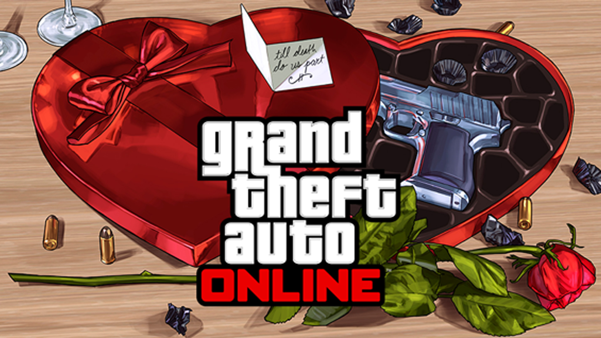 Grand Theft Auto V Online Be my Valentine