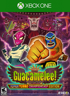 Guacamelee! Super Turbo Championship Edition  Box Art