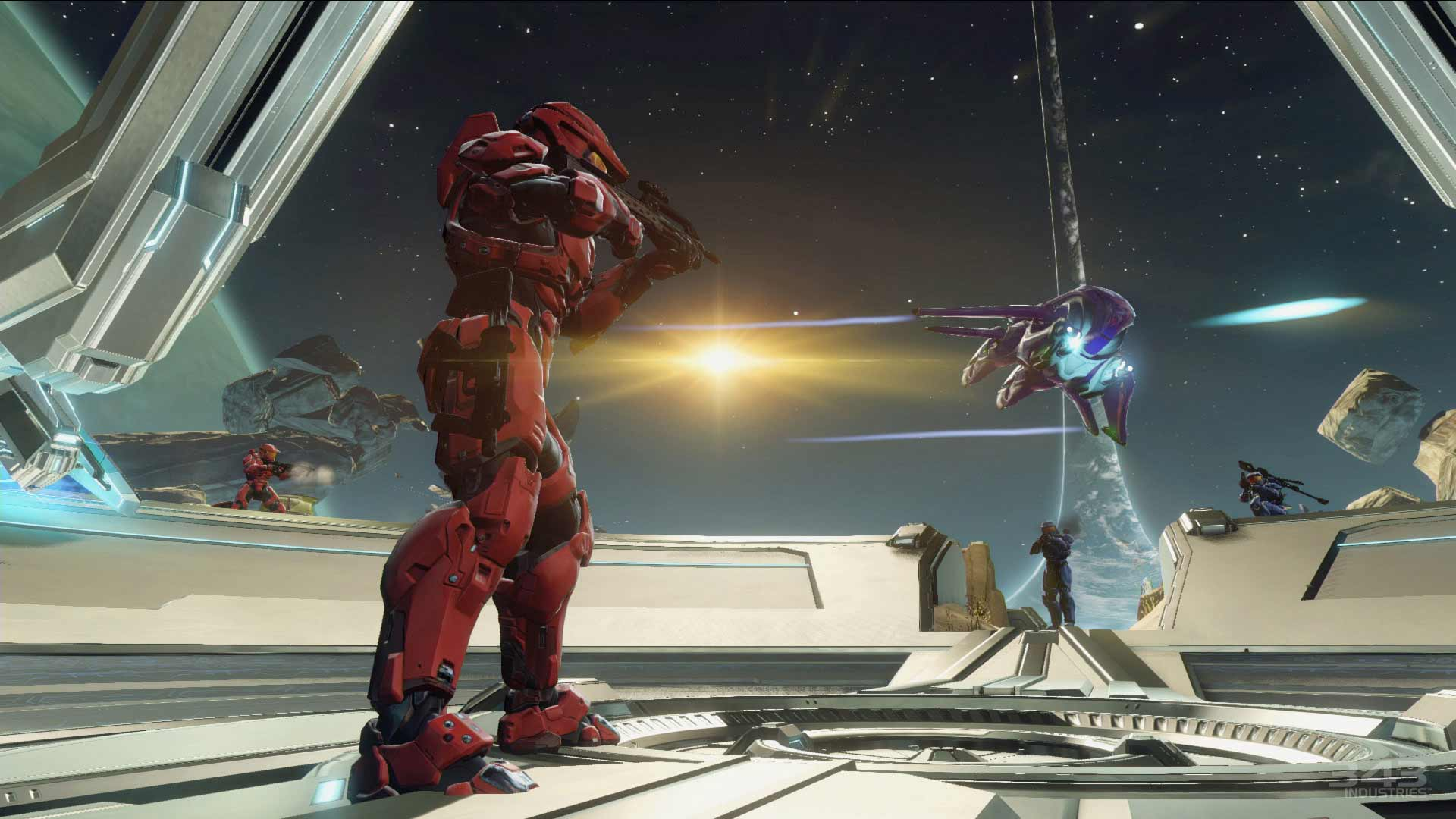 Halo 2 Xbox One X Screenshot