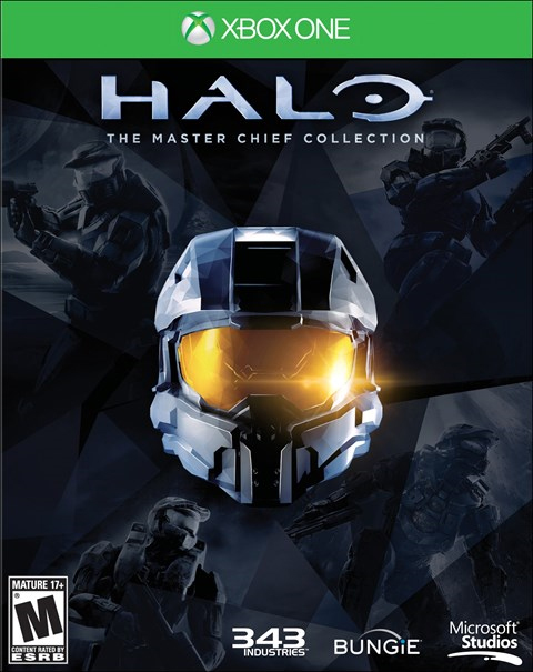 The Master Chief Collection Xbox One Box Art