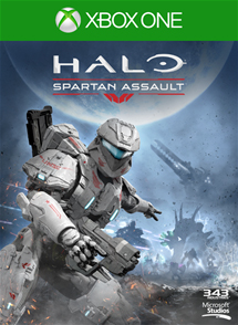 Halo Spartan Assault Box Art