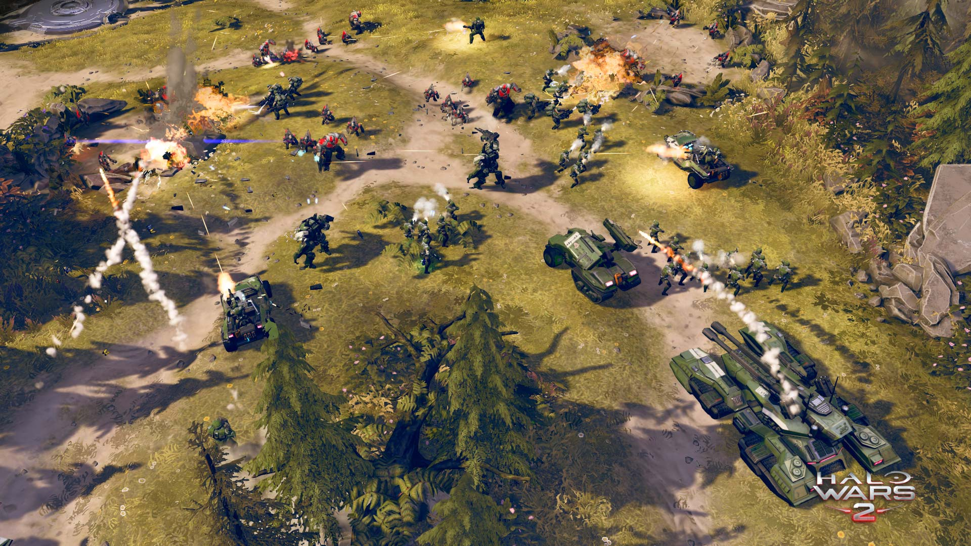Halo Wars 2 Screenshot UNSC vs Banished