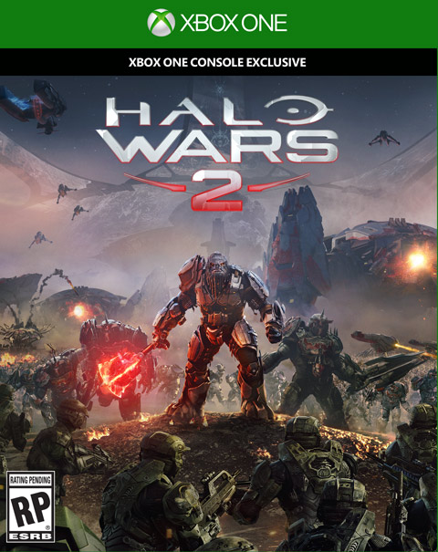 Halo Wars 2 Xbox One Box Art
