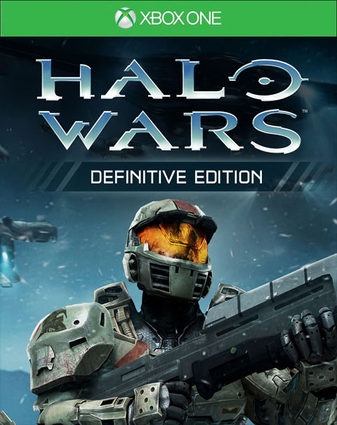 Halo Wars: Definitive Edition Xbox One Box Art