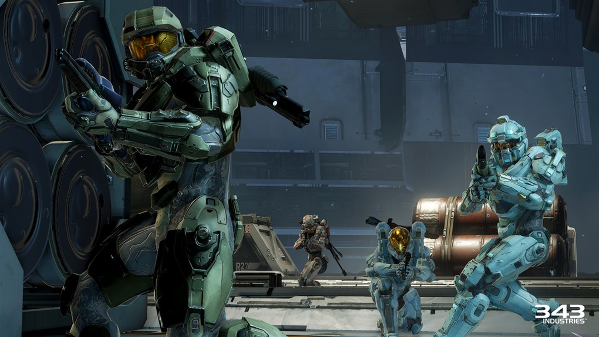 Halo 5: Guardians Blue Team shown at E3 2015
