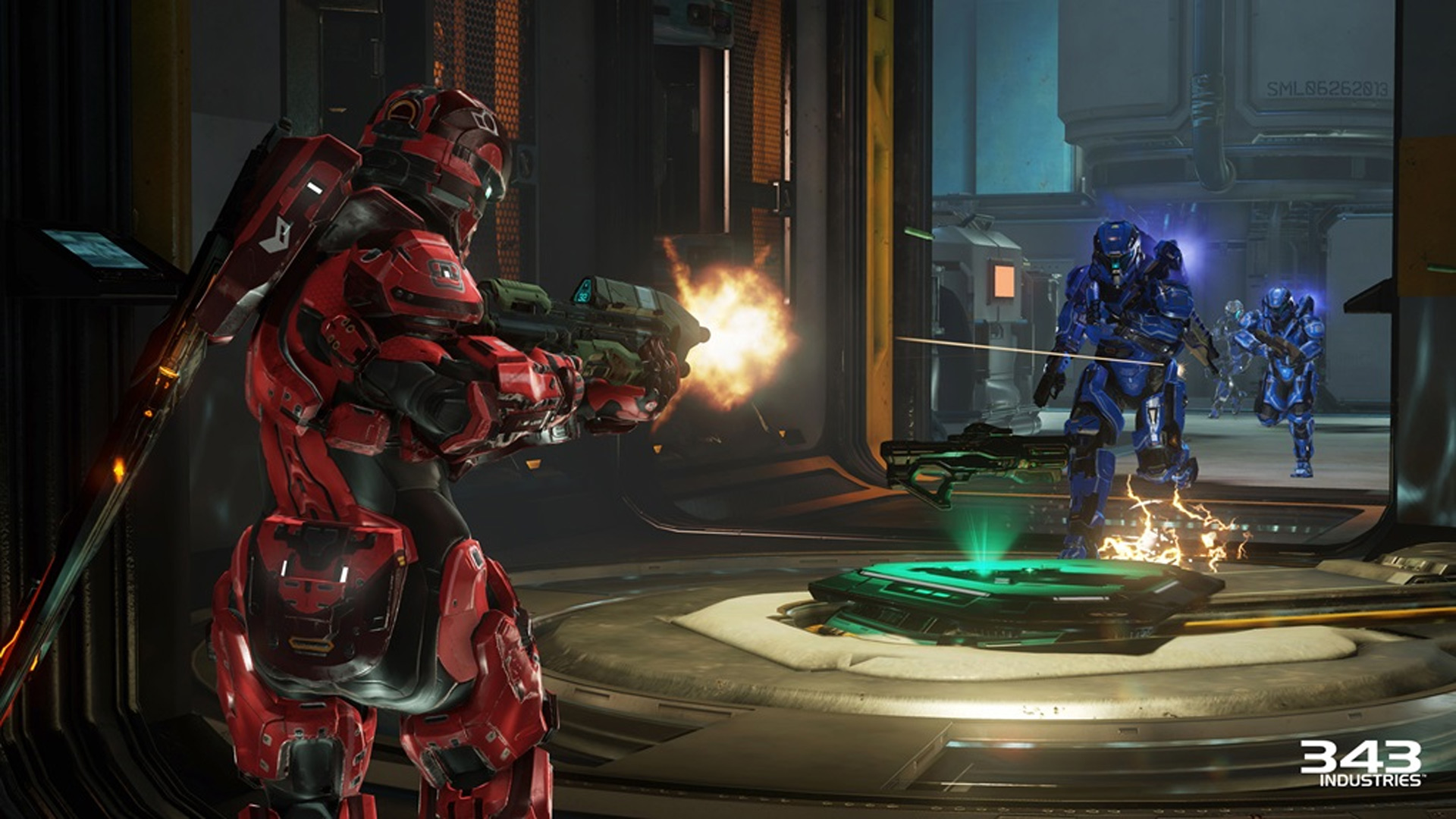 Halo 5: Guardians Warzone shown at E3 2015