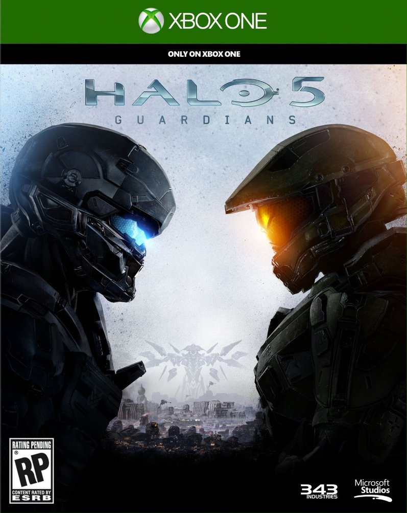 Halo 5: Guardian Box Art