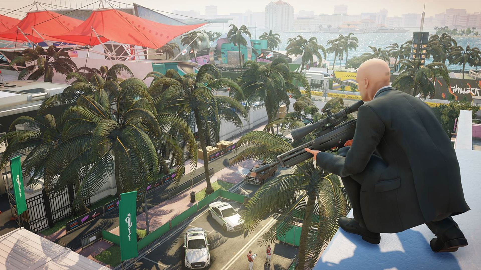 Hitman 2 Review Xbox Wallpaper Screenshot