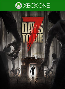 7 Days to Die Xbox One Box Art