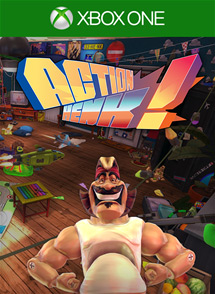 Action Henk Xbox One Box Art