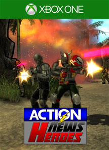 Action News Heroes Xbox One Box Art