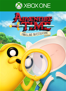 Adventure Time: Finn & Jake Investigations Xbox One Box Art