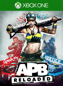 APB: Reloaded Xbox One Box Art