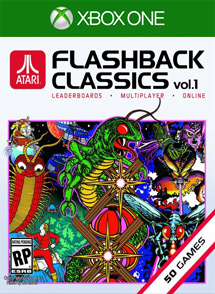 Atari Flashback Classics Volume 1 Xbox One Box Art