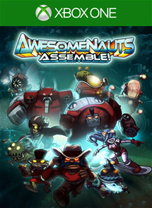 Awesomenauts Assemble! Xbox One Box Art