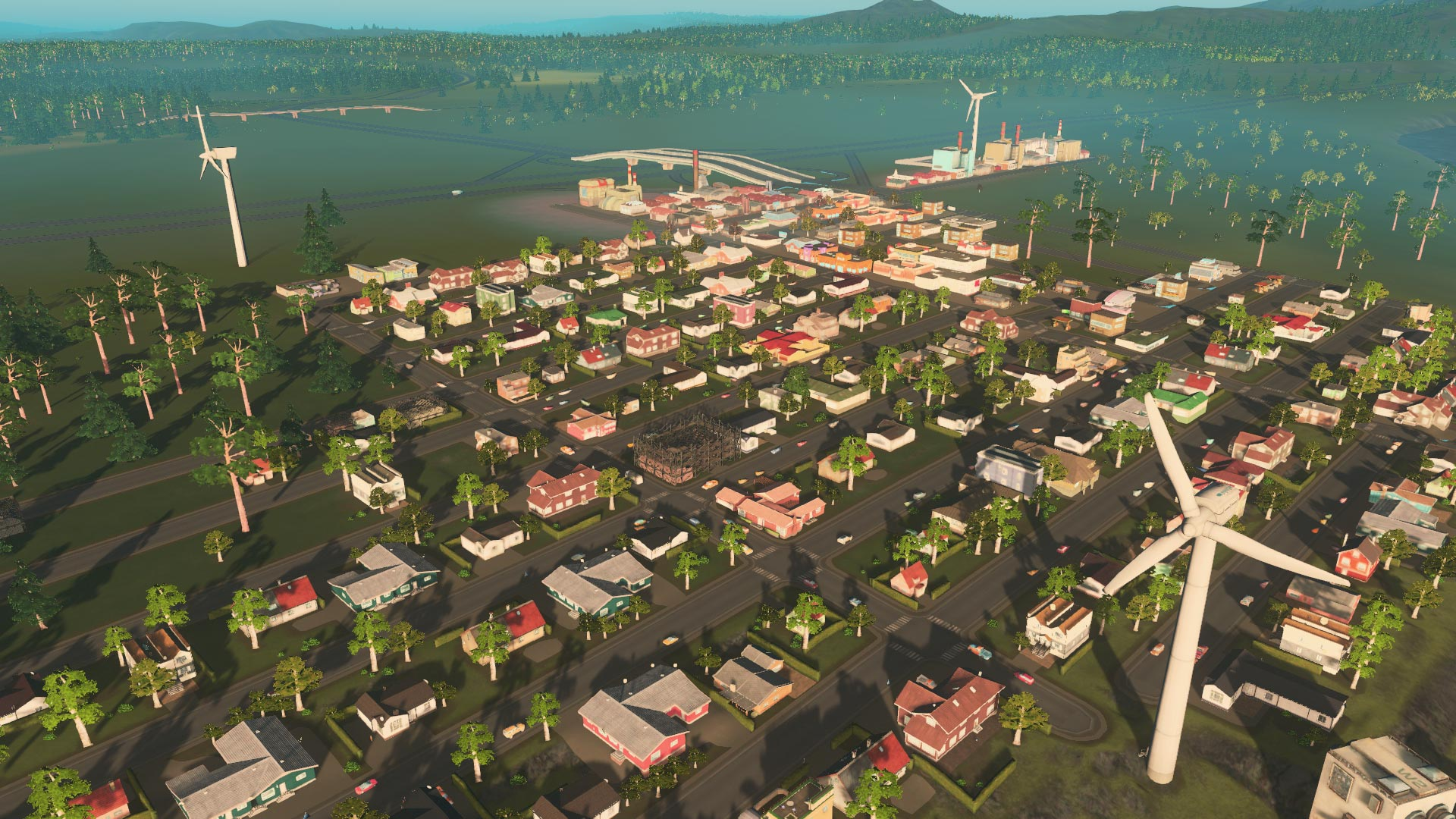 Cities: Skylines Xbox One Edition Screenshot of Skyland