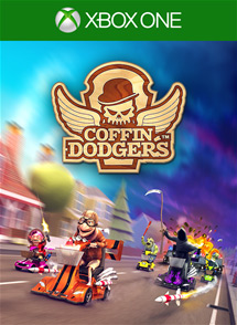 Coffin Dodgers Xbox One Box Art