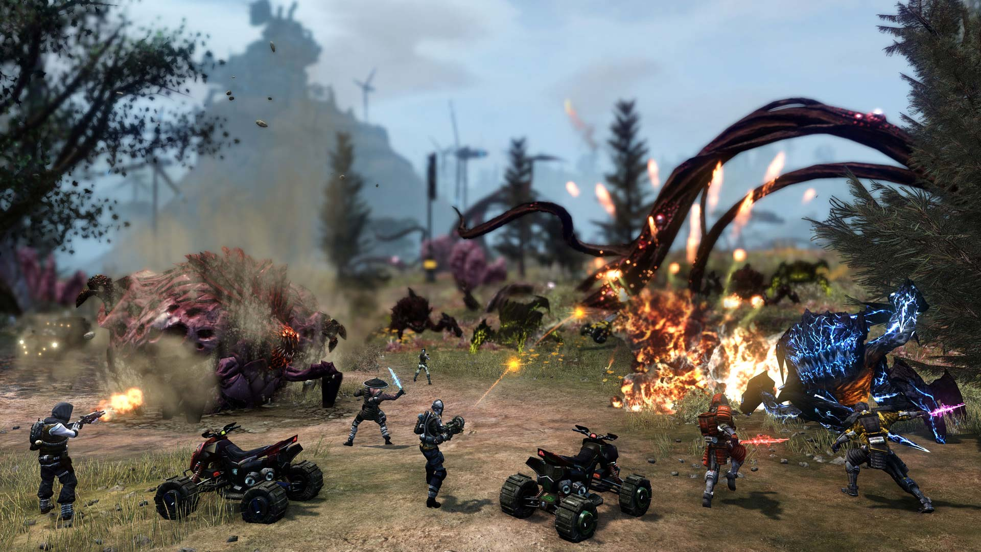 Defiance 2050 Review Xbox Wallpaper Screenshot
