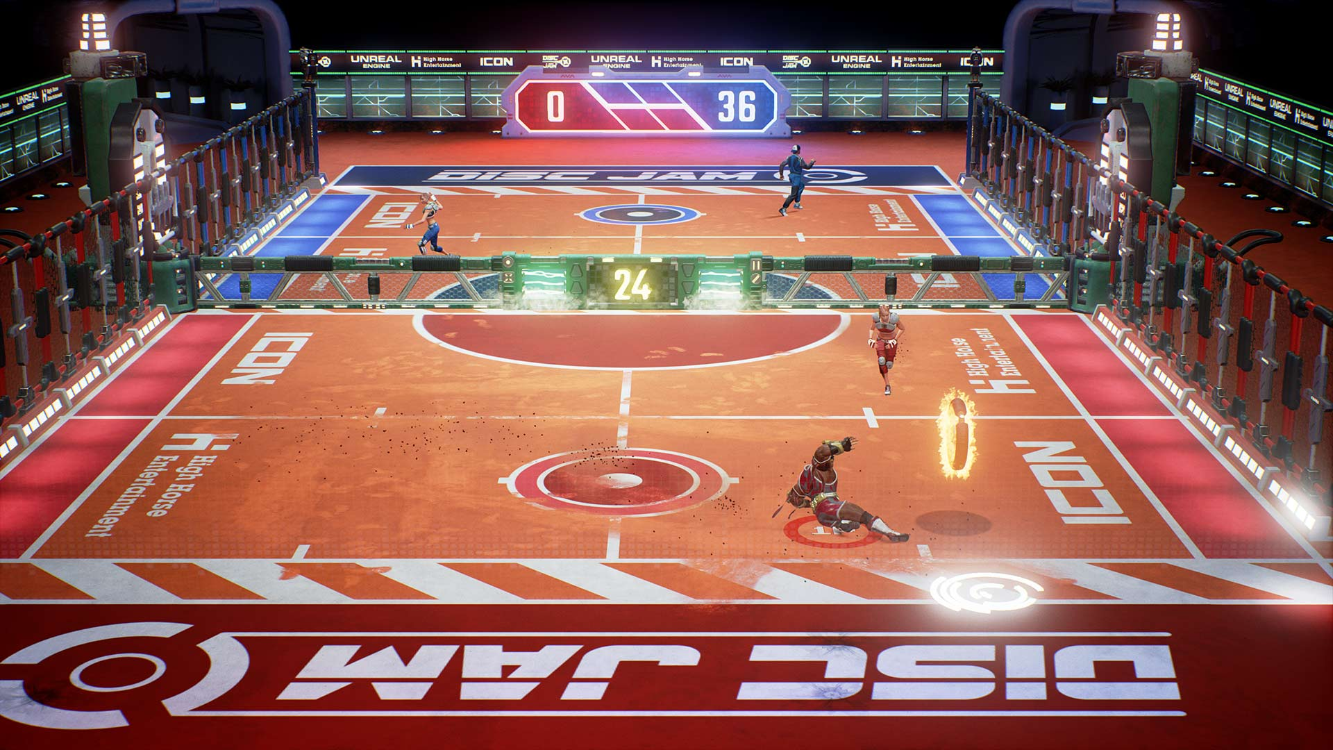 Disc Jam Review Xbox Wallpaper Screenshot