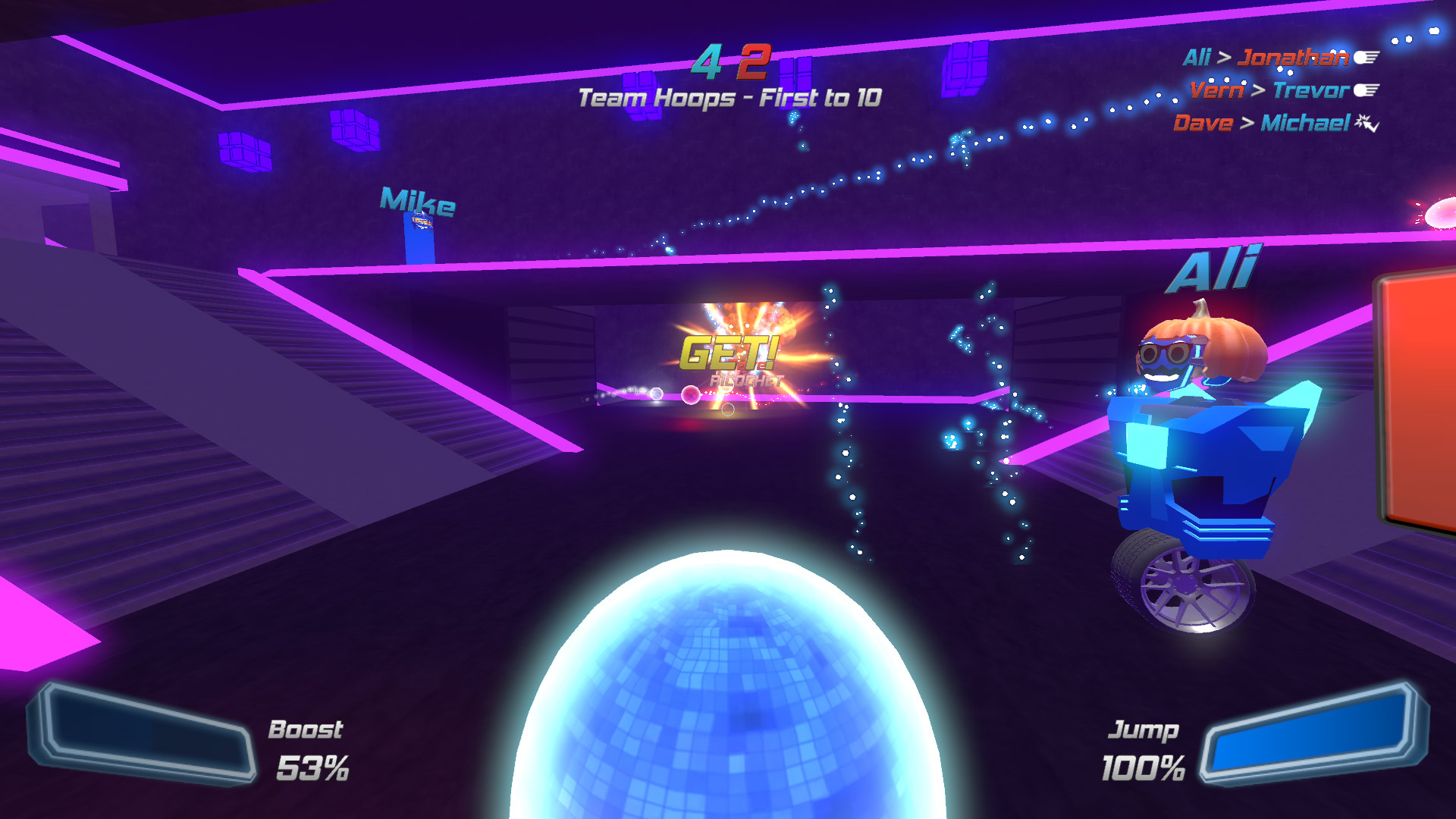 Disco Dodgeball Remix Review Xbox Wallpaper Screenshot