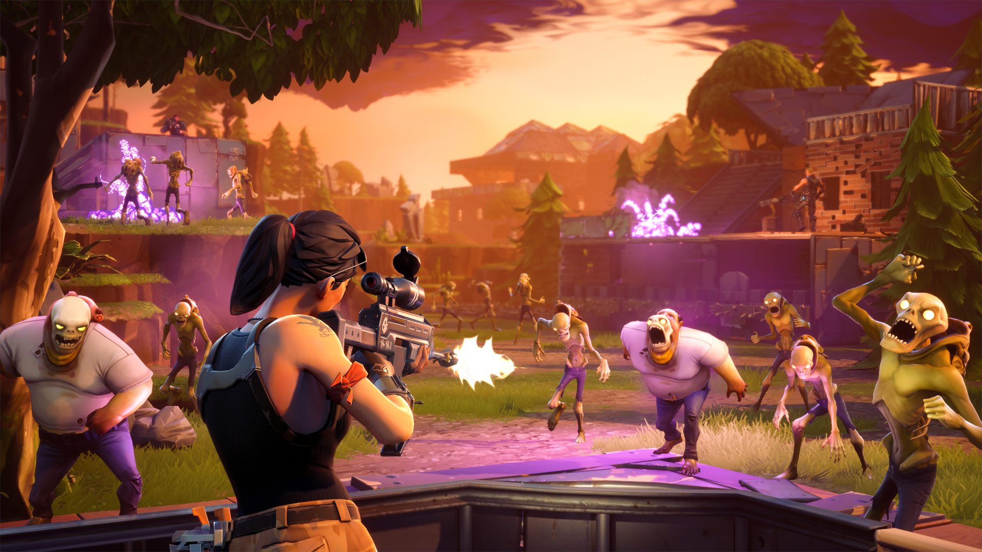 Fortnite Battle Screenshot