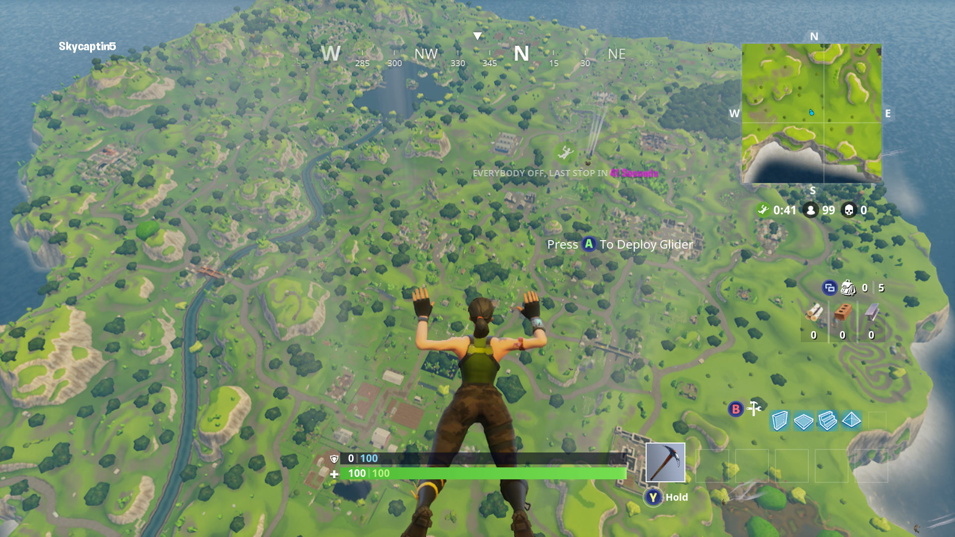 Fortnite Nintendo Switch Resolution Screenshot