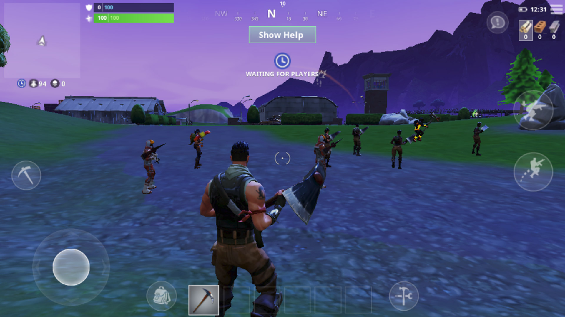 Fortnite Android Screenshot