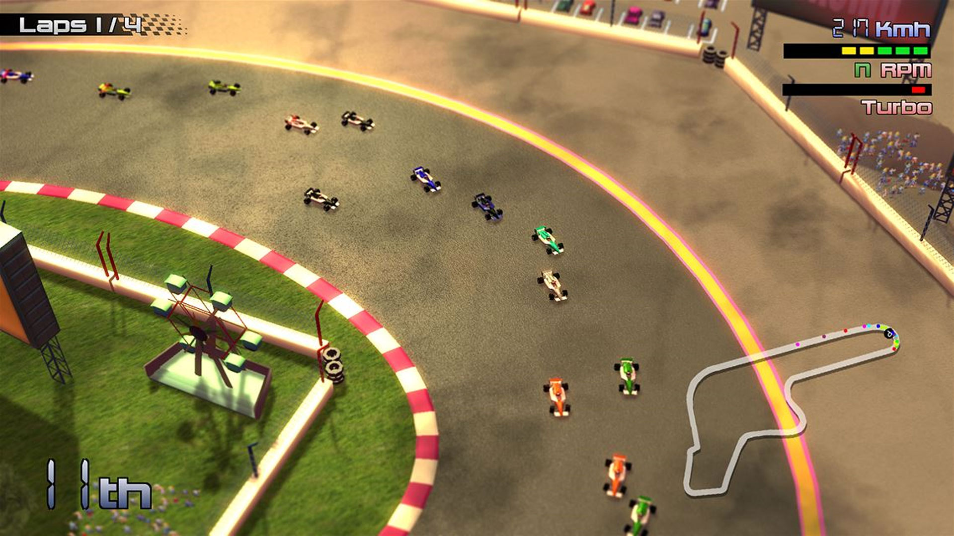 Grand Prix Rock 'N Racing Nintendo Switch Screenshot